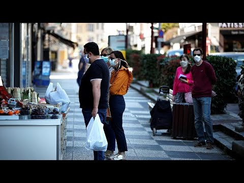 euronews (in Italiano): Covid-19: vivere con la mascherina anche in Francia