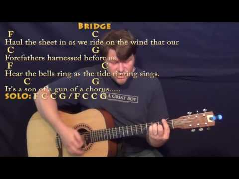 Son of a Sailor (Jimmy Buffett) Guitar Cover Lesson with Chords/Lyrics - Munson