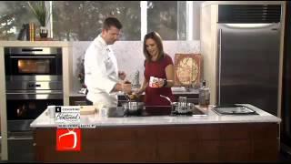 Chef Garth Blackburn's Raspberry And White Chocolate Bread Pudding Topping