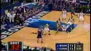 Washington vs Uconn 2006 Sweet 16 NCAA Tournament