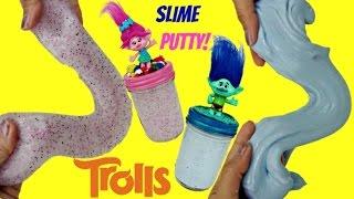 DIY TROLLS Glitter Slime Kids Craft Activity | Toys Unlimited