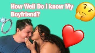 Boyfriend Quiz! How well do I know my man