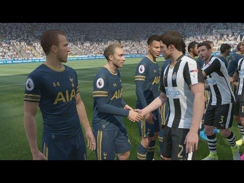 FIFA 17 (PS4 Pro) Newcastle United v Tottenham PREMIER LEAGUE 13/8/2017 REPLAY SIM MATCH 1080P 60FPS