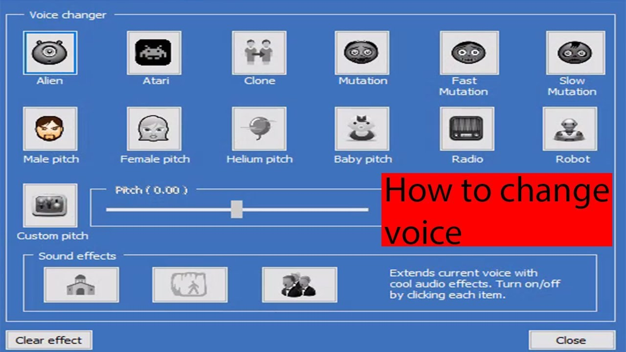 How To Change Your Voice In Real Time FREE | Windows 10 PC | Free Voice  Changer