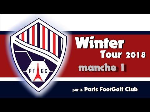 Paris FootGolf Club - Winter Tour 2018 1/5