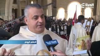 مسيحيون عرب وأجانب يحجون إلى منطقة المغطس في نهر الأردن