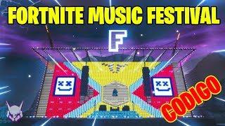 FORTNITE MUSIC FESTIVAL Partiendo con No-Scopes | #CreacionesTomate | elvowe_
