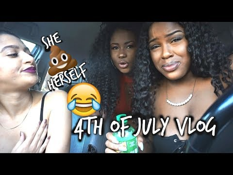 FUNNIEST VLOG EVER| SHE SHIT HERSELF! | 4TH OF JULY
