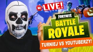 FORTNITE HALLOWEEN TURNIEJ vs YOUTUBERZY! - Na żywo