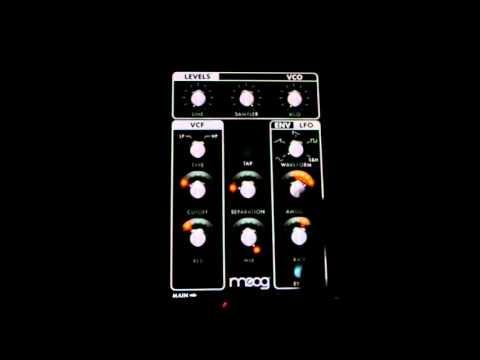 Moog Filtatron Demo