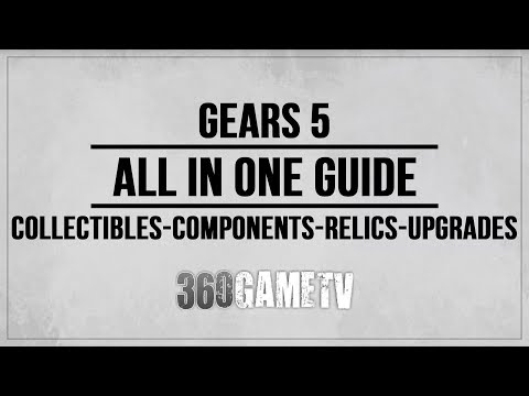 Gears 5 All Collectibles, Components, Relic weapons, Jack Upgrades Locations - ALL IN ONE Guide