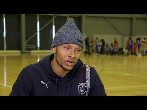 Andre De Grasse: From Basketball to Track - NBA XL