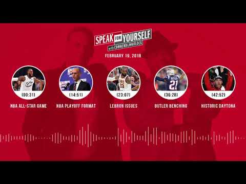 SPEAK FOR YOURSELF Audio Podcast (2.19.18) with Colin Cowherd, Jason Whitlock   SPEAK FOR YOURSELF