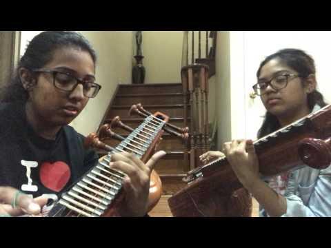 Dandaalayyaa/ Vandhaai Ayya (Veena Cover)| Baahubali 2: The Conclusion | Veena Thambaps