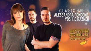 Alessandra Roncone B2B Yoshi & Razner for Trance Family Cyprus Event June 13th 2021