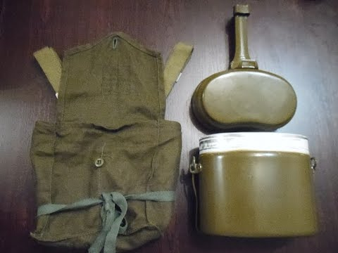 Обзор армейского котелка и сумки