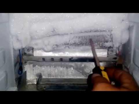 como reparar refrigerador GE dupelx  no congela