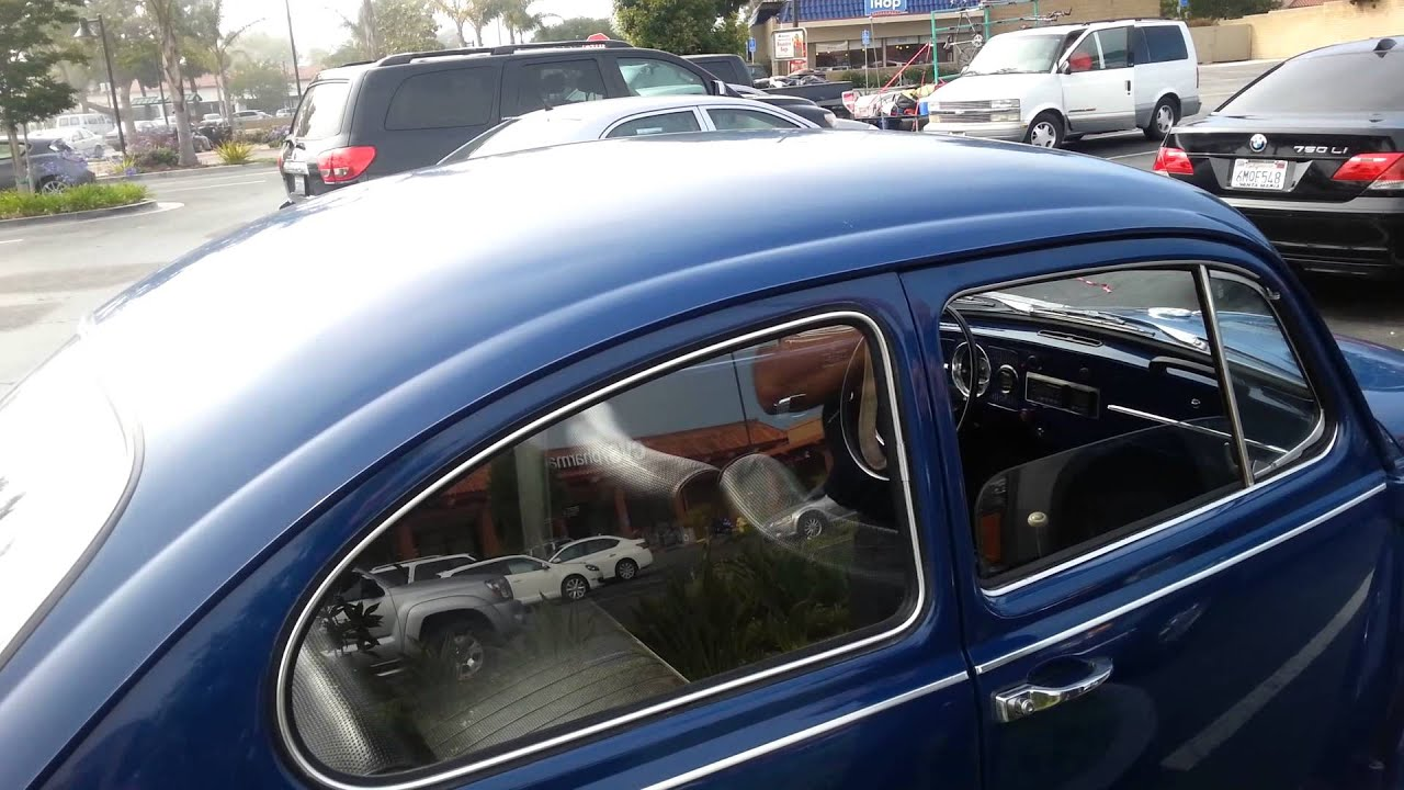 1967 Vw Beetle Conversion To Electric