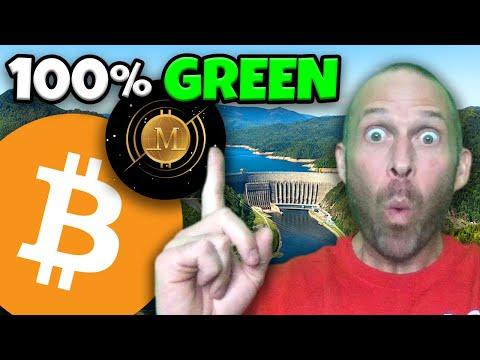 BITCOIN MINING CRYPTO REWARDS $MINERS HOLDERS IN $BTC!!!!! 100% GREEN RENEWABLE HYDRO POWER MINING!