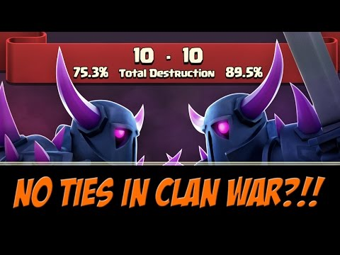 NEW Clan War Tiebreaker System | NO MORE TIES | Update 2015 Sneak Peek | Clash of Clans