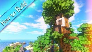 おしゃクラ! 超コンパクトモダンツリーハウスを作ってみた part46(Minecraft) thumbnail
