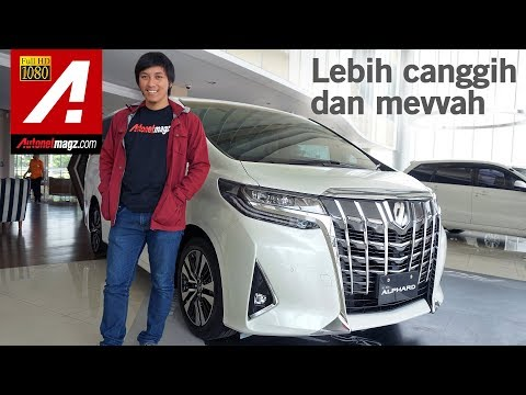 Toyota Alphard Facelift 2018 First Impression Review by AutonetMagz