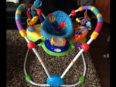 Baby Einstein Musical Motion Jumper FULL REVIEW