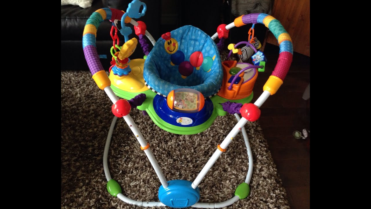 24d652627 Baby Einstein Musical Motion Jumper FULL REVIEW - YouTube