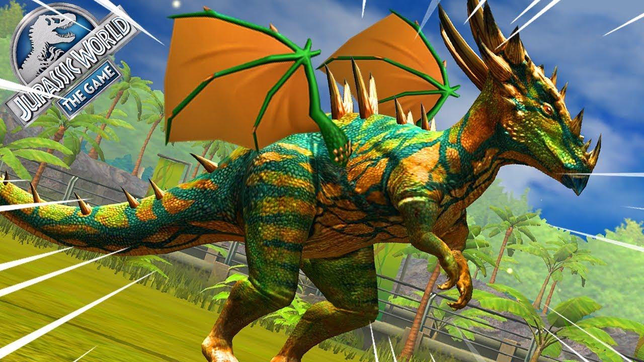 Tiến Hóa Dragon Trong Game Công Viên Khủng Long   Jurassic World - The Game