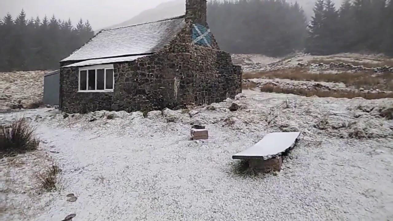 Wild camping Scotland. Winter camping👍😎 🌨👌 - YouTube