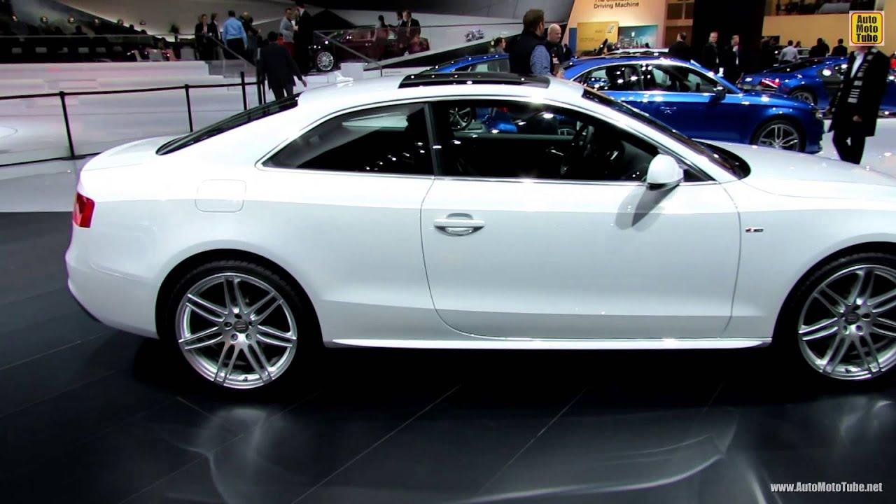 2014 Audi A5 2 0T Quattro S Line Exterior and Interior