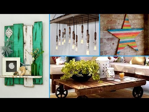 💕DIY Creative ways to Recycle Wooden Pallets 2017 | Pallet decor ideas I💕
