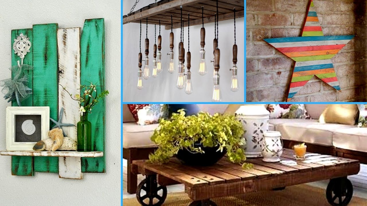 DIY Creative ways to Recycle Wooden Pallets 2017 | Pallet ... on Pallets Design Ideas  id=42096
