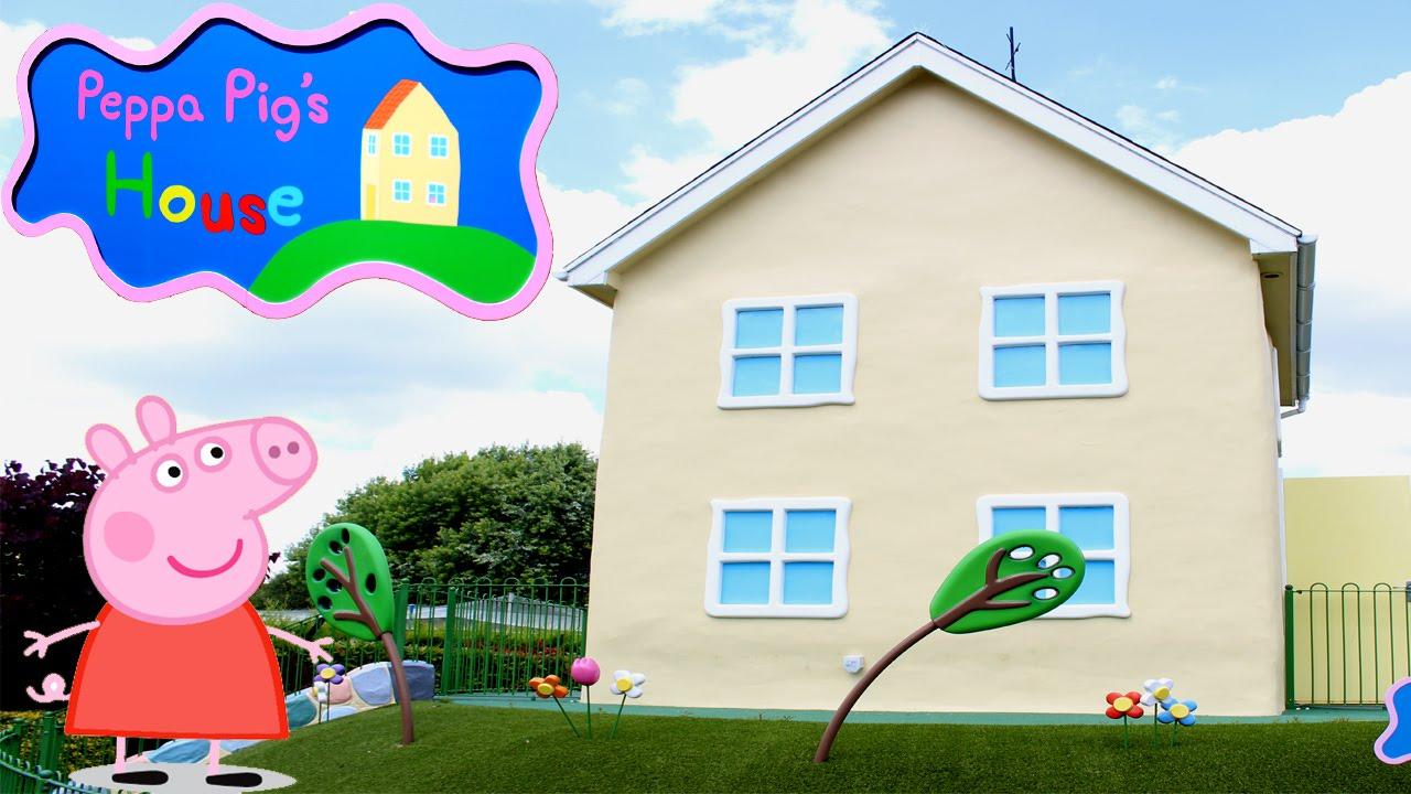 PEPPA PIG WORLD! Peppa Pigu0027s House At Peppa Pig World   Paultonu0027s Park