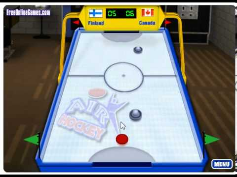 Air Hockey Pc Browser Game Youtube