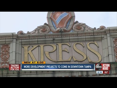 More development projects coming to downtown Tampa