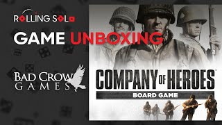 Company of Heroes The Board Game Solo Co op Expansion Unboxing