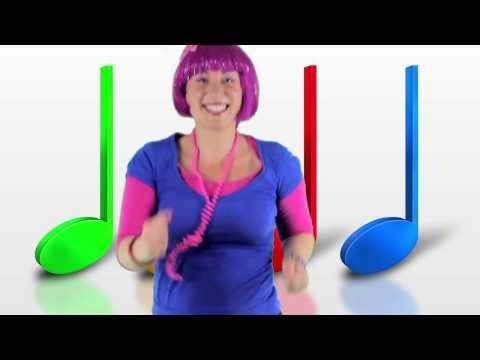 Dance Song For Children - Let the Music Move Your Feet - Debbie Doo