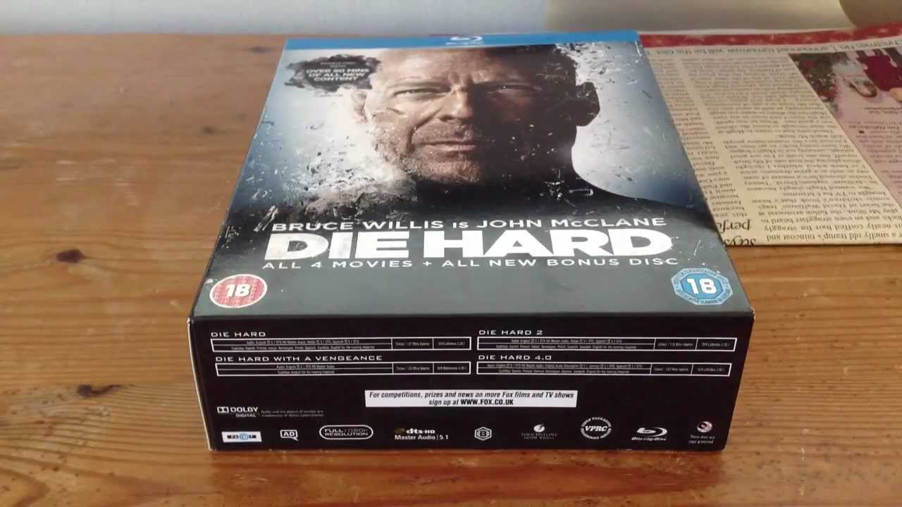 die hard collection blu ray review youtube. Black Bedroom Furniture Sets. Home Design Ideas