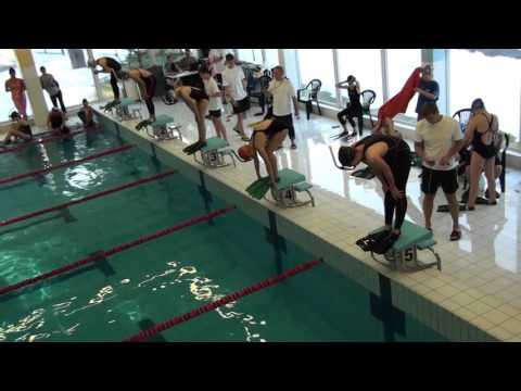 2016-03-12 _ 1-й день юношеского чемпионата Эстонии (подводное плавание)
