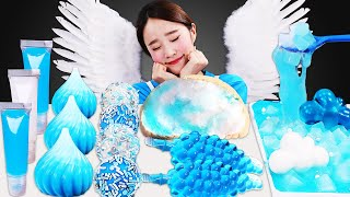 Blue White dessert Fun Slime c…