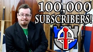 100,000 / One Hundred Thousand subscribers THANK YOU!
