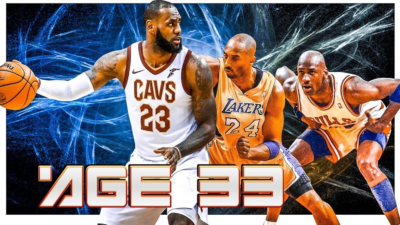 e53fbca224f6 LeBron age 33 vs Jordan   Kobe age 33 - Comparison - Pick your favorite!