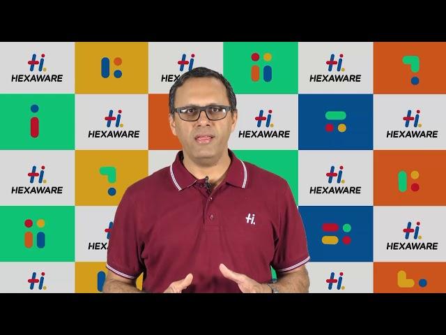 Hexaware Career: Leader Speak - Arun Ramchandran