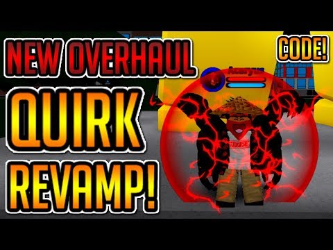 Boku No Roblox Overhaul Revamp Cooldown Time Update 220k Code New Overhaul Quirk Revamp This Is Op Boku No Roblox Remastered Youtube