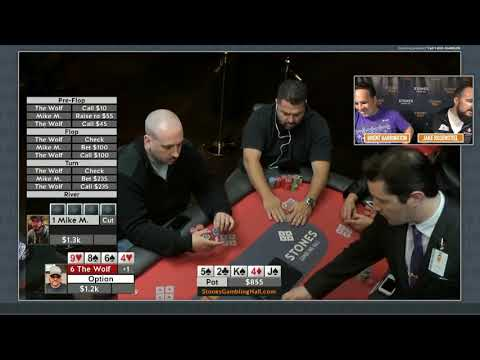 5/5 Pot Limit Omaha broadcast from 9/13/17