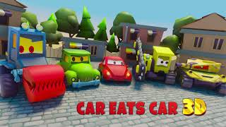 Car Eats Car 3D - Pre-launch Game Trailer