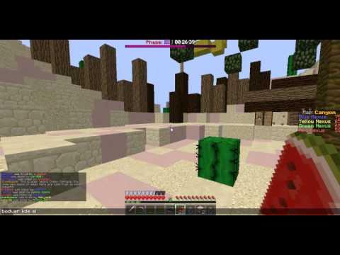 Minecraft Annihilation taktiky : taktika 2. Potion of Strength 2 ( stred )