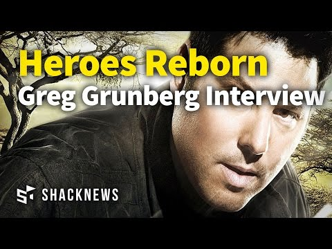 Heroes Reborn Greg Grunberg Interview