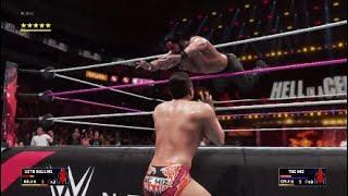 HIAC  Rollins VS Miz* Charlotte VS Carmella